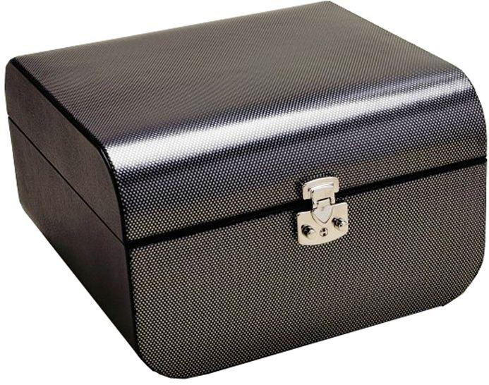 Набор для покера в черном-сером боксе,160 фишек, пластик, 2 колоды карт, фишка дилера