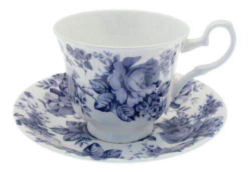 """Чайная пара """"Английский Ситец"""", 230 мл"""