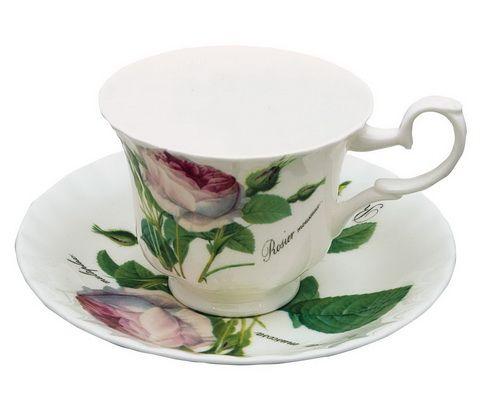 """Чайная пара """"Роза Редаут"""", 230 мл"""