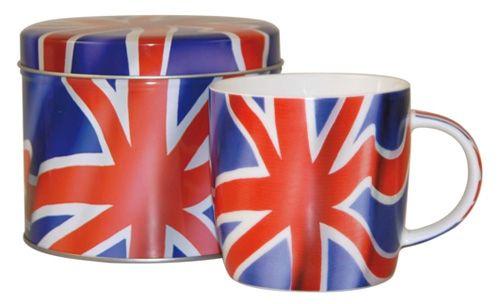 "Кружка ""Британский Флаг"", форма Spice, 285 мл"