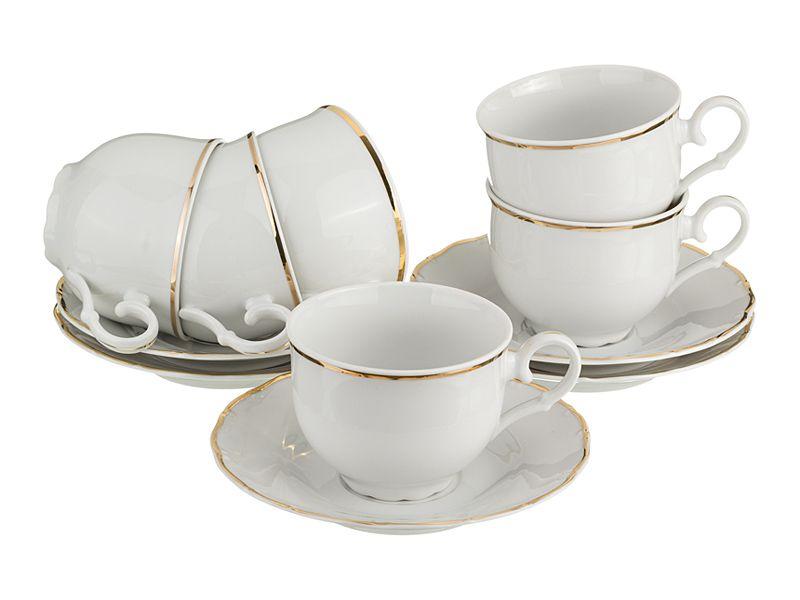 """Чайный набор на 6 персон """"Офелия 662"""", 12 пр., 200 мл"""