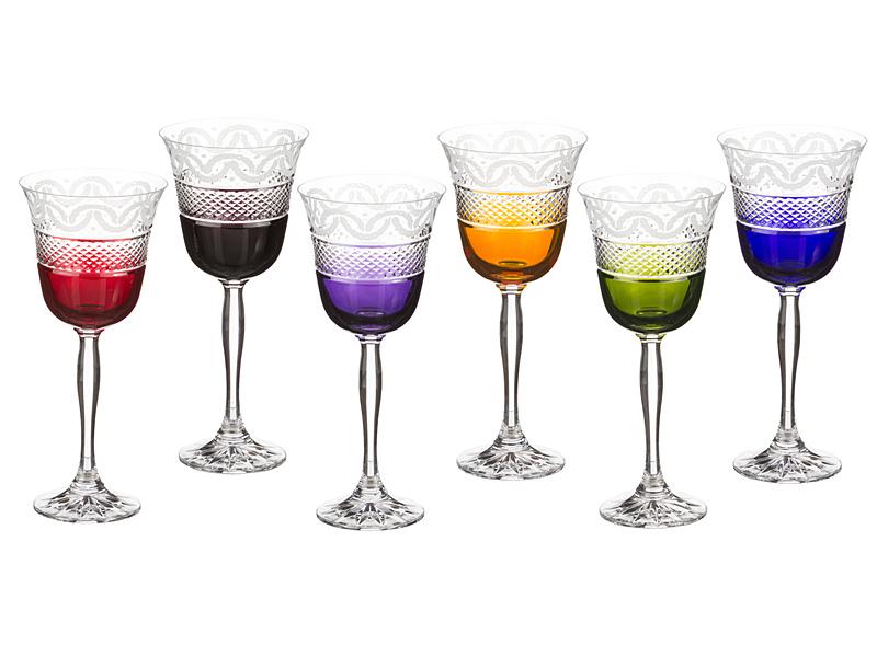 Набор бокалов для вина 220 мл, 6 шт.