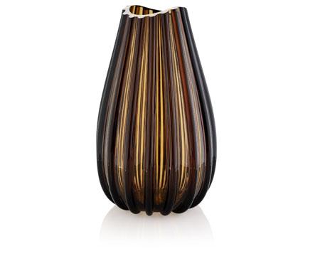 """Ваза """"Menhir"""", 40 см (коричневая)"""