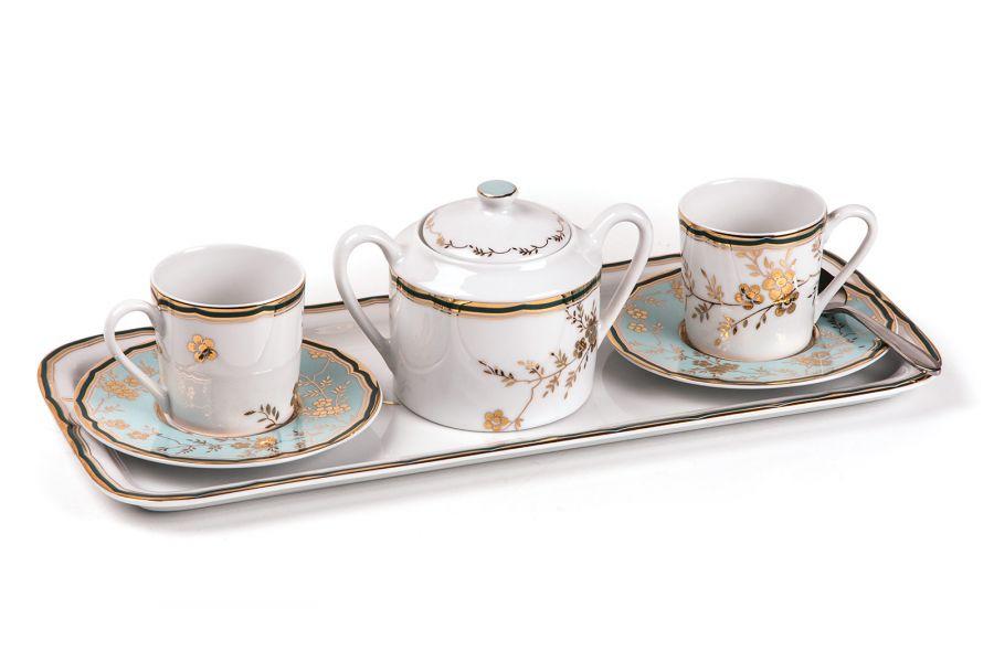 Кофейный набор на 2 персоны Belle epoque (Zen), 120 мл, 4 пр.